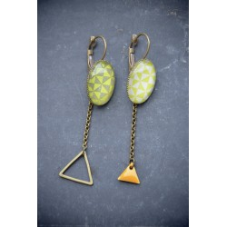 "Boucles ""Triangles"""